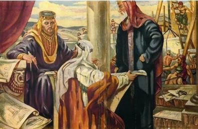 Solomon and Hiram